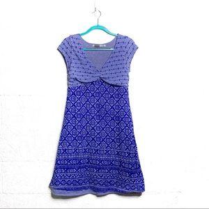 Athleta Dhara Burnout Dress Poseidon Blues